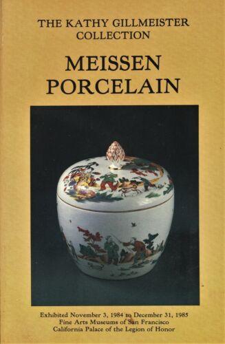 Antique Meissen Porcelain Identification - Types Dates Marks Etc. / Scarce Book