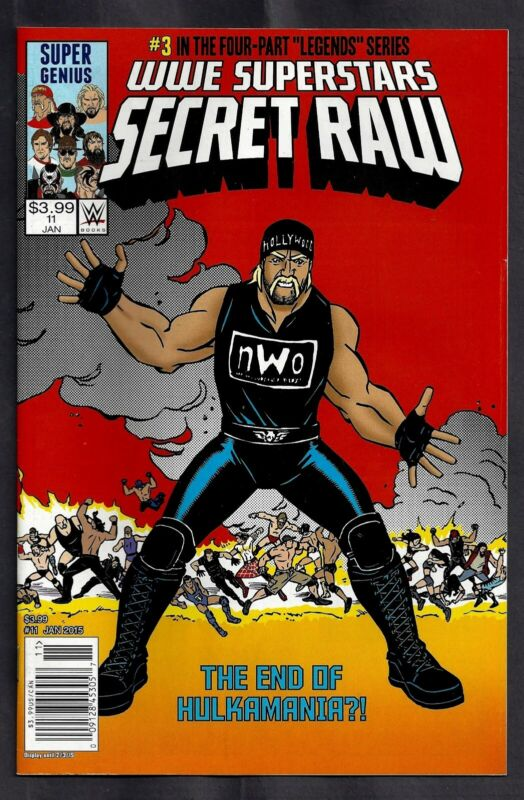 WWE SUPERSTARS #11 (OF 12) SECRET WARS #8 HOMAGE COVER JAN 2015 COMIC BOOK 1