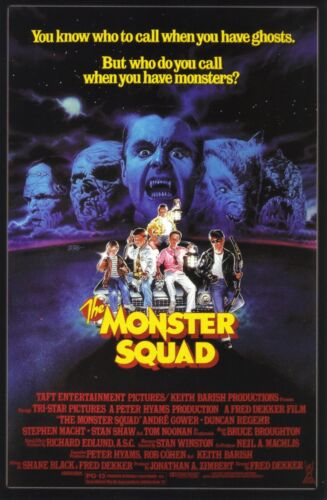The Monster Squad 1987 Fantasy / Action Classic Movie POSTER