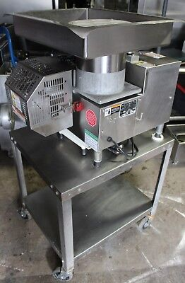 Patty-o-matic Model 330a Hamburger Patty Maker Machine With Table Sn3764