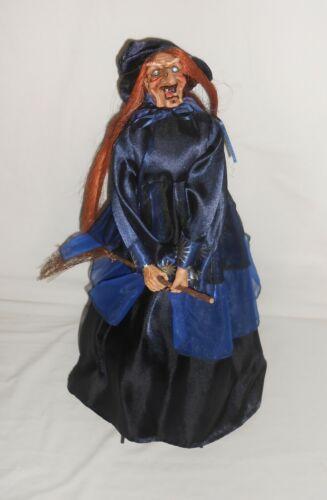 "21"" Halloween Witch Doll Figurine with Umbrella Skirt"