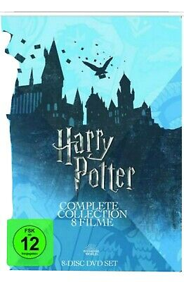 Harry Potter : Die Komplette Collection 8 Filme DVD Set Edition NEU&OVP