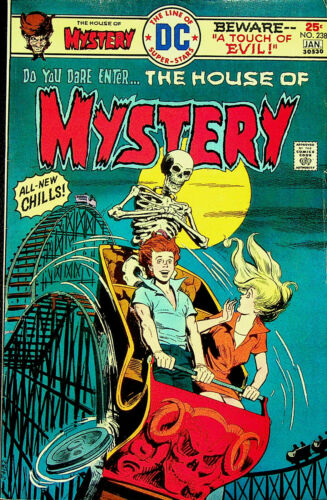 House of Mystery #238 (Dec 1975-Jan 1976, DC) - Very Fine/Near Mint