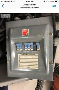 Used 200amp Electrical Sub Panel