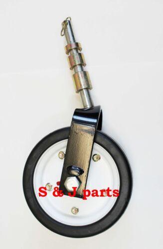Countyline Finishing Mower Wheel Assembly/King Kutter 502020 403023 (2Pack)
