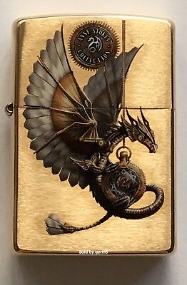 Zippo Windproof Anne Stokes Mythological Dragon Lighter  62021  New In Box