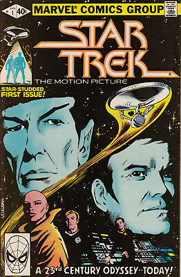 Star Trek #1 (Apr 1980, Marvel) Comic Book
