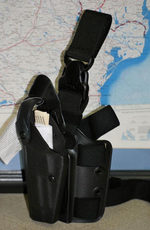 Safariland Black Leg Duty Holster - New - Left Hand