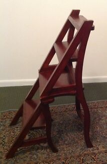 Antique Convertible Chair/Ladder