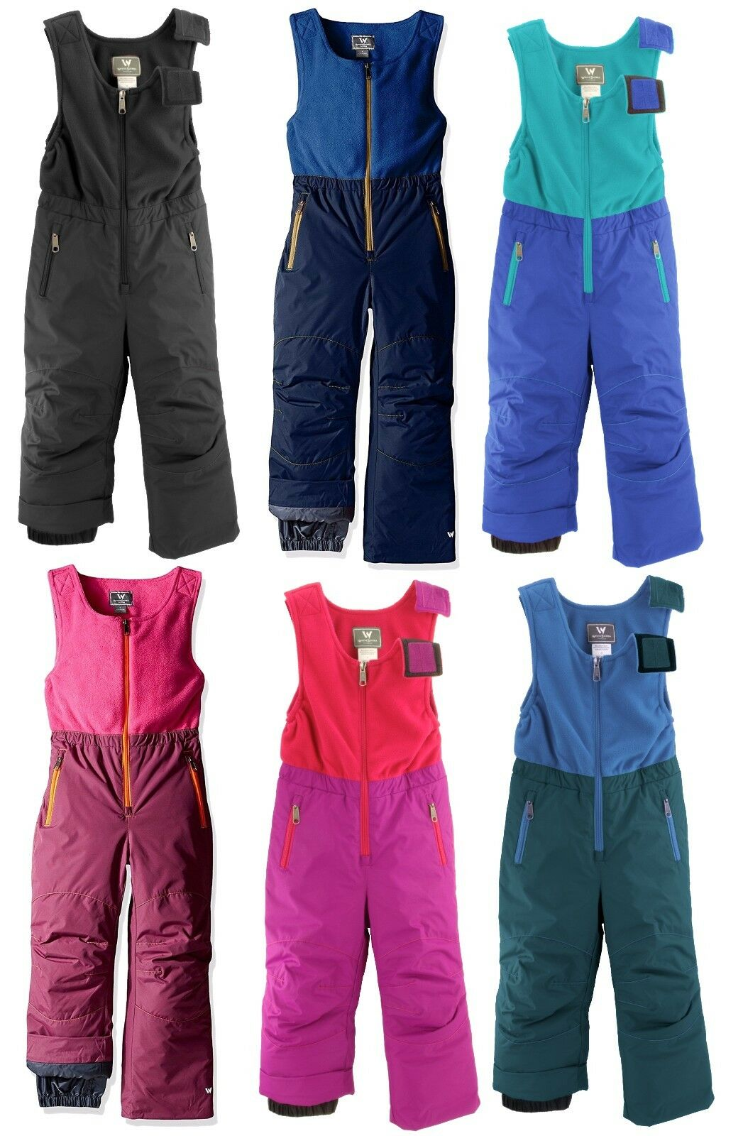WHITE SIERRA T9217T GIRLS BOYS TODDLER II BIB PANT SKI SNOW