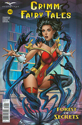 Grimm Fairy Tales Nr. 40 (2020), Variant Cover D Abrera, Neuware, new