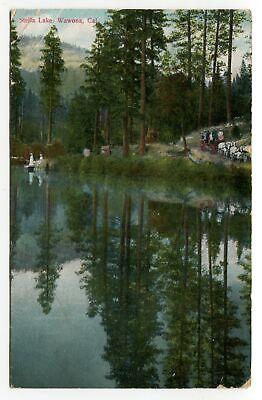 Stella Lake Wawona Yosemite National Park California Posted 1911 Princeton CA