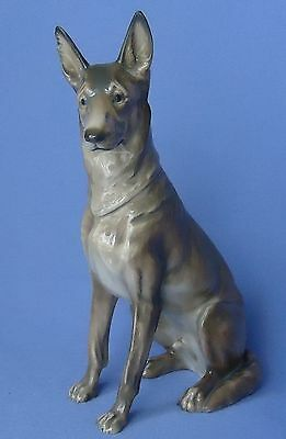 "1930 ROSENTHAL GERMAN SHEPHERD ALSATIAN DILLER 9"" dog for sale  Shipping to Nigeria"