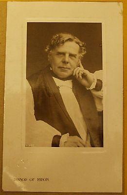 1908 Real photo postcard - Bishop of Ripon.
