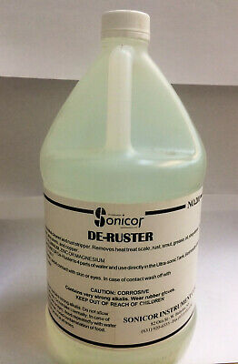 Sonicor Ultrasonic Cleaning Solution Gallon De Ruster 201