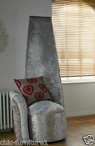 Bespoke Tall High Back FabricUpholstered Potenza Chair - Design Your Own Chair