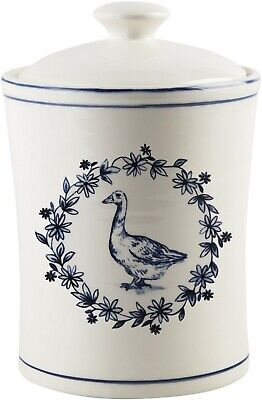 MOLLY HATCH VINTAGE FARM DUCK CANISTER BY HOME ESSENTIALS (Duck Canister)