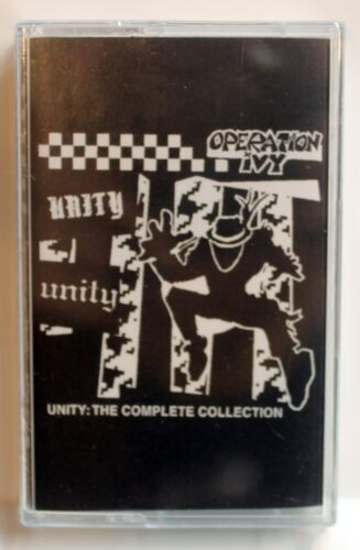 OPERATION IVY ‎– Unity: The Complete Collection cassette  NEW! SEALED!!! rancid