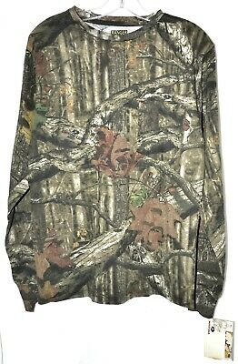 Mossy Oak Break-Up Infinity Camo Long Sleeve Pocket T-Shirt Men's Sz Small NWT