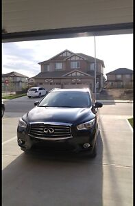Infiniti 2015 QX60 AWD Premium extended warranty and low KMs