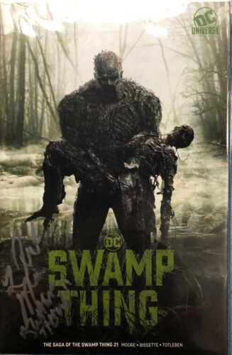 DC Universe SDCC 2019 Exclusive Swamp Thing 21 DEREK MEARS SIGNED COMIC BOOK