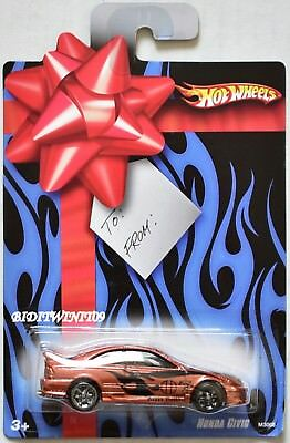 Hotwheels Birthday (HOT WHEELS 2007 HAPPY BIRTHDAY HONDA CIVIC REAL RIDERS)