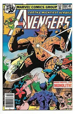 AVENGERS #180 (2/79 Marvel) NM (9.4)