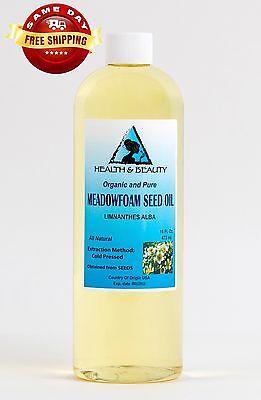Meadowfoam Seed (MEADOWFOAM SEED OIL ORGANIC CARRIER EXPELLER PRESSED 100% PURE 16 OZ)