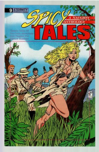Spicy Tales #9 1989 VF (Eternity)