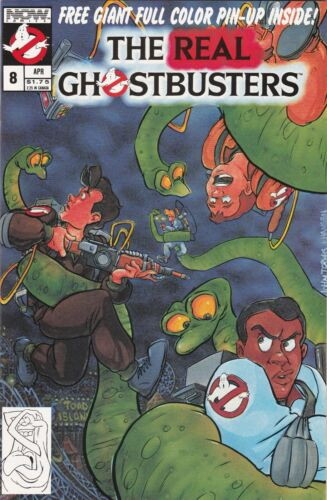 The Real Ghostbusters 8  NM