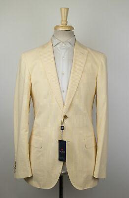 New PAL ZILERI CONCEPT Cotton Blend 2 Button Sport Coat Size 50/40R Drop 8 $950