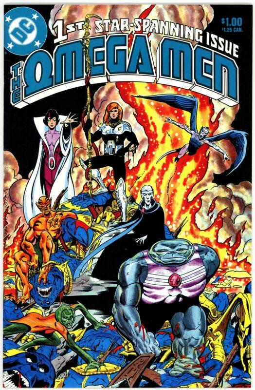 Omega Men (1983) #1 NM-