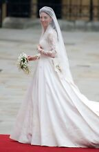 Wedding Dress inspired by Kate Middleton's gown Blackburn Whitehorse Area Preview