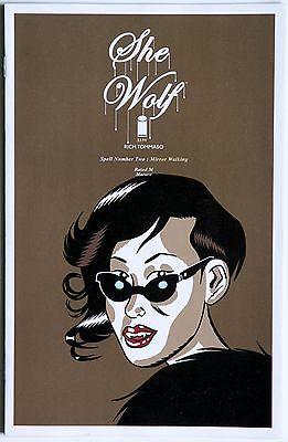 She Wolf 2 Image Comics Rich Tommaso
