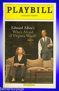 Image result for who's afraid of virginia woolf playbill