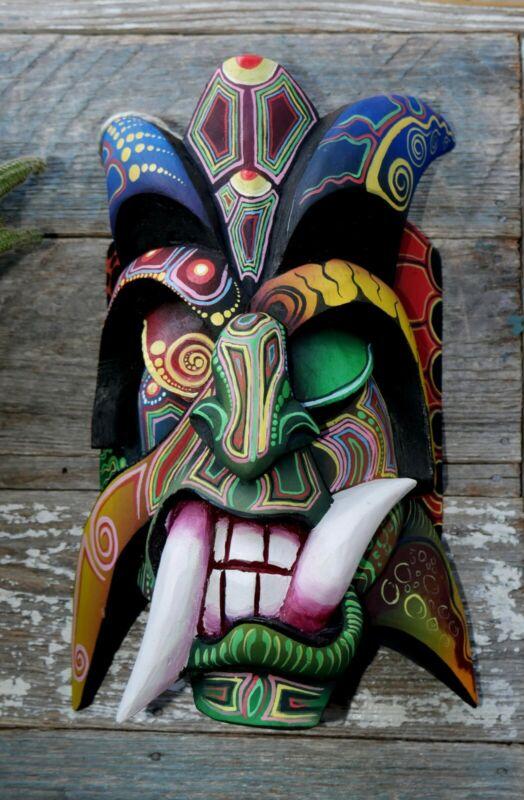 Authentic Boruca mask direct from the artist in Boruca. ARTE - FREE SHIPPING