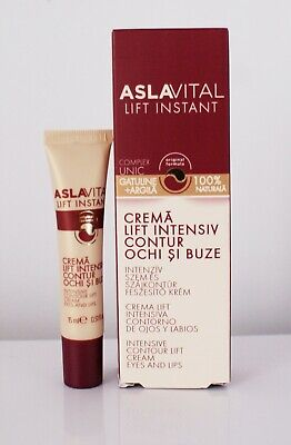 Aslavital Lift Instant intensive contour lift cream for eyes and lips 15 ml   (Lift Contour Intensive Eye)