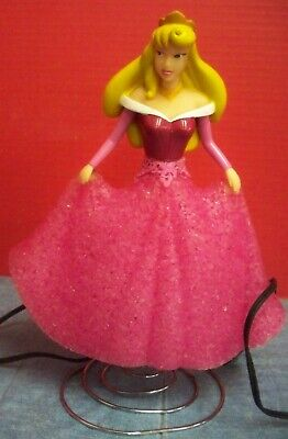 - Disney Princess Aurora Sleeping Beauty Nightlight Lamp on Spring Base Electric