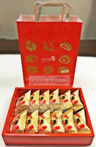 Chia Te Pineapple Pastry, Fruit Pastry 佳德鳳梨酥 鳳黃酥 水果酥  [Expedited Shipping]