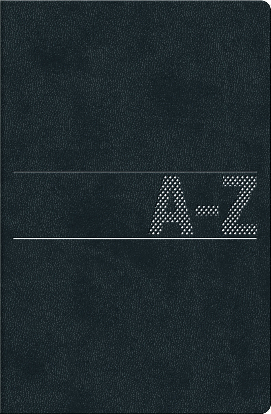 Telefonbuch Adressbuch Adresskartei Telefonregister schwarz A-Z Brunnen A6