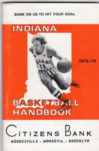 1978-79 Larry Bird Indiana Basketball Handbook Boston Celtics