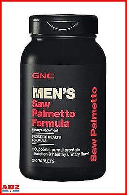 Gnc Saw Palmetto Formula  240 Tablets For Prostate Health