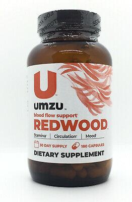 UMZU REDWOOD Natural Nitric Oxide Booster Supplement For Improved Blood Flow