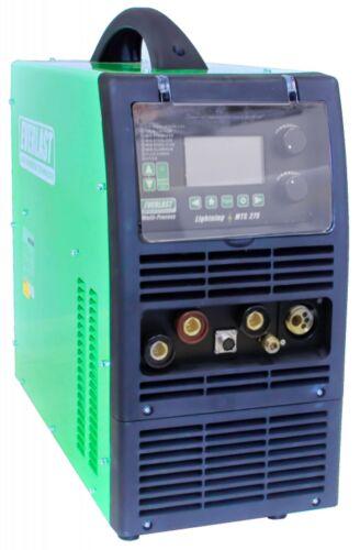 LightningMTS 275 250 Amp AC/DC TIG Pulse / MIG / Stick Combo Welder Dual Voltage