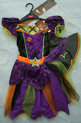 Enchanted Witch Halloween Girls Costume Cast a Spell by Sainsbury's 7-8 years