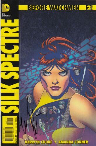 MALIN ACKERMAN signed (SILK SPECTRE) Before Watchmen Comic book #2 of 4 W/COA