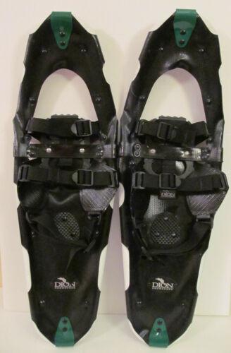 "Dion Walking/Hiking Snowshoes 25""x8"" Light Weight Regular Binding Deep Cleat"