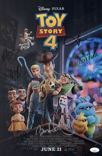 Annie Potts TOY STORY 4 Cast X7 Signed 11x17 Photo In Person Autograph JSA COA