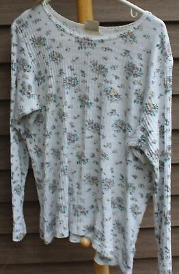 Woman's Floral Print Shirt by Huntingdon Ridge