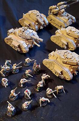 Warhammer 40K imperial guard astra militarum Catachan Hydra Army Leaman Russ